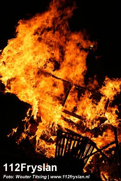 Liftbrand en buitenbrand Annie Westlandstraat