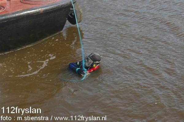Auto te water Lorentzkade
