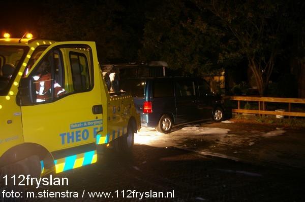 Keet in brand Pieter Meeterstraat