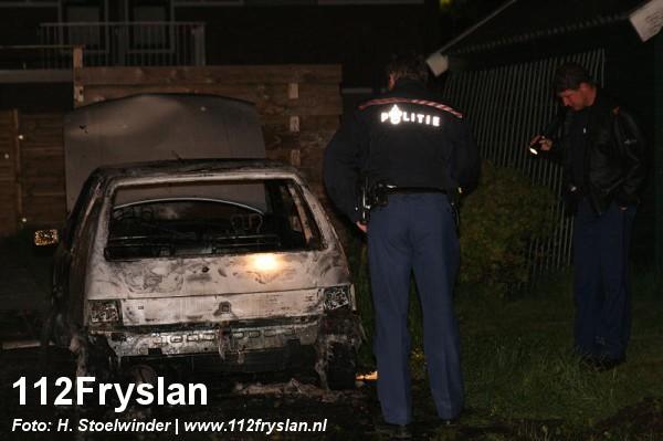 Peugeot uitgebrand