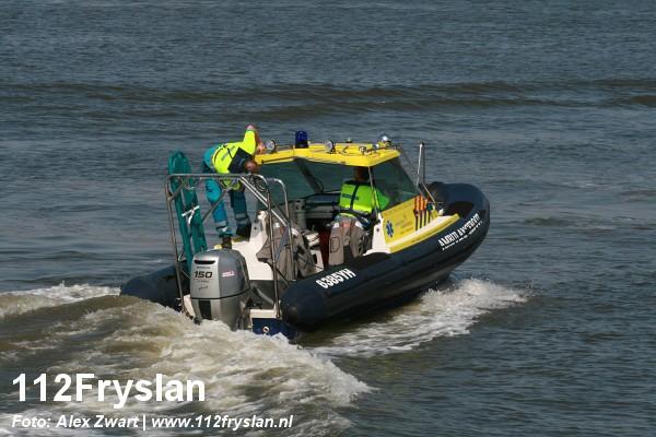 Promotie ambulanceboot in Harlingen (Video)