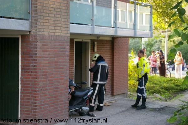 Gaslucht in fietsenhok (video)