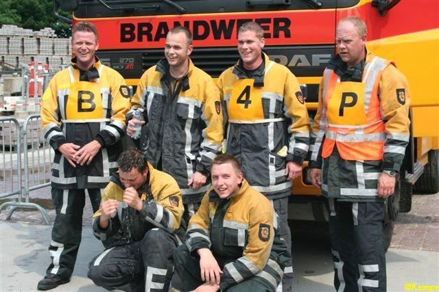 Vliegbasis wint brandweerwedstrijd