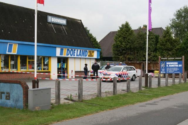 Steekpartij in Gorredijk