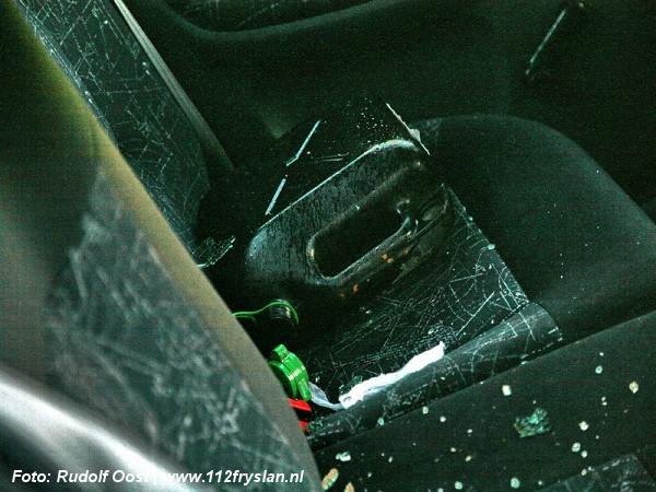 auto 112fotograaf met moker bewerkt