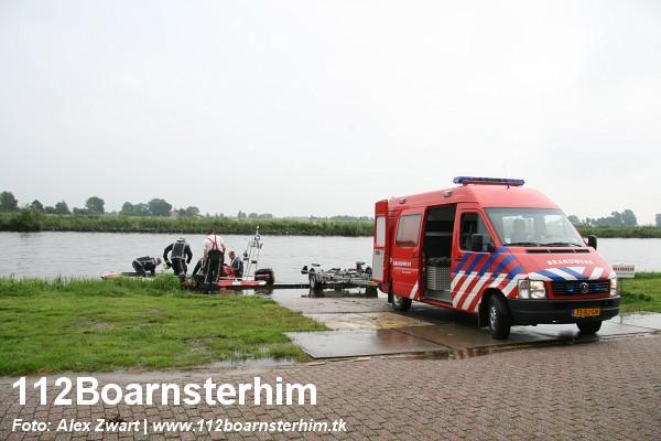 Blusboot in actie voor paard te water *Foto update*