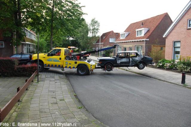 Autobrand Jozef Israelsstraat
