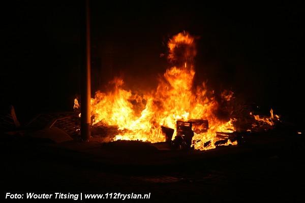forse buitenbrand en OMS Stenden University