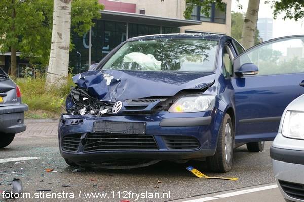 drie auto's betrokken bij ongeval