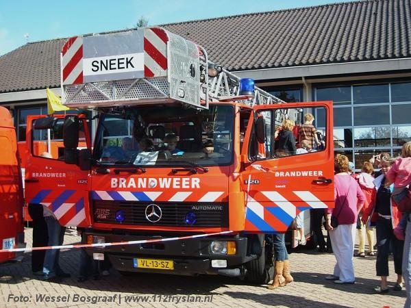 Geslaagde open dag brandweer Sneek
