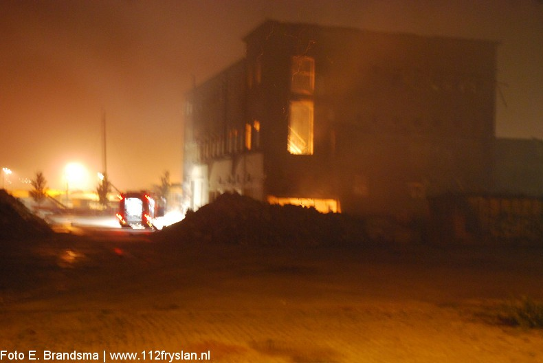 Stankoverlast door brand bij LPF