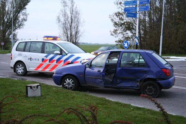 Dienstauto van vliegbasis betrokken bij ongeval