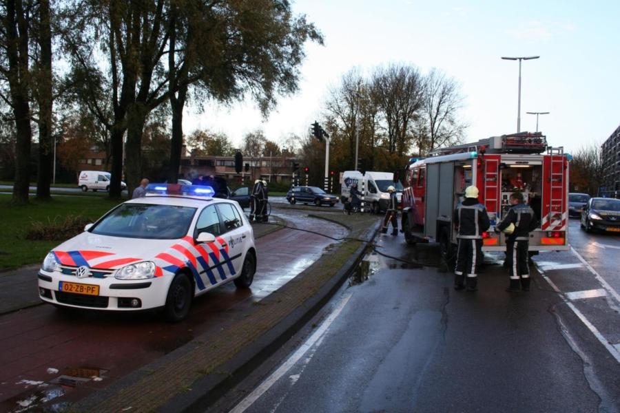Weer autobrand op Jelsumerstraat