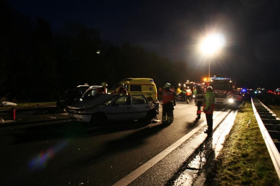 Invoegen gaat fout: Drie gewonden op Waldwei