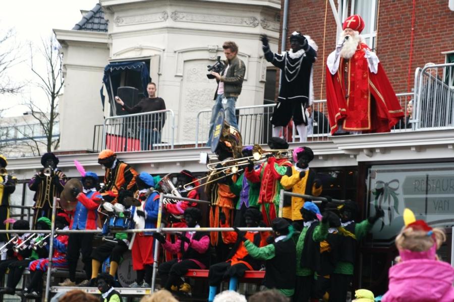 Sinterklaas aangekomen in Leeuwarden