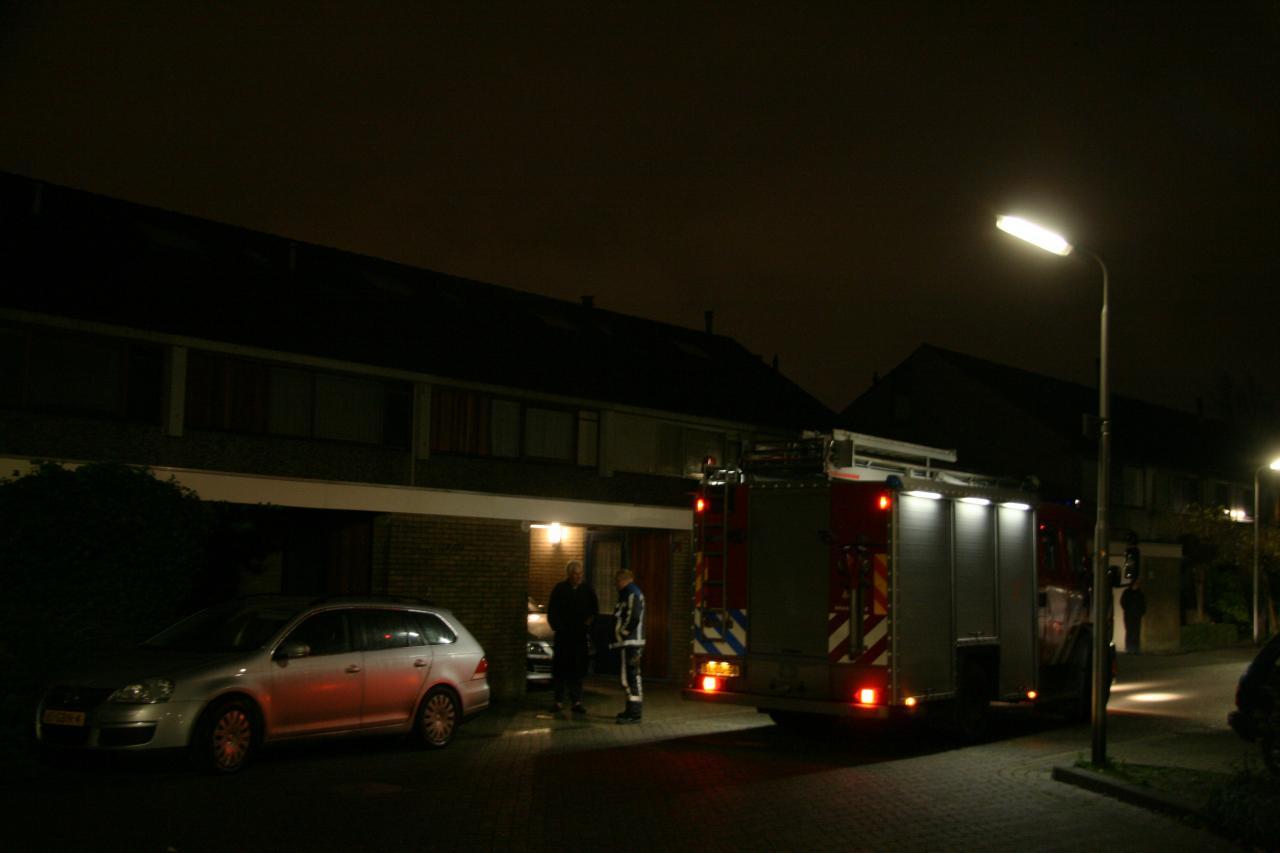 Brand in meterkast op tijd ontdekt