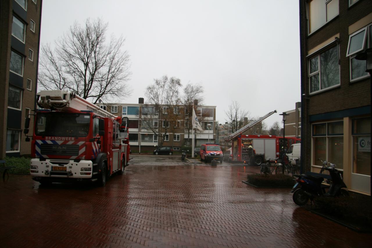Brandweeroefening in Greunshiem