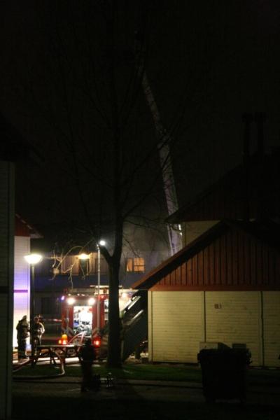 Gedeelte AZC ontruimd na brand