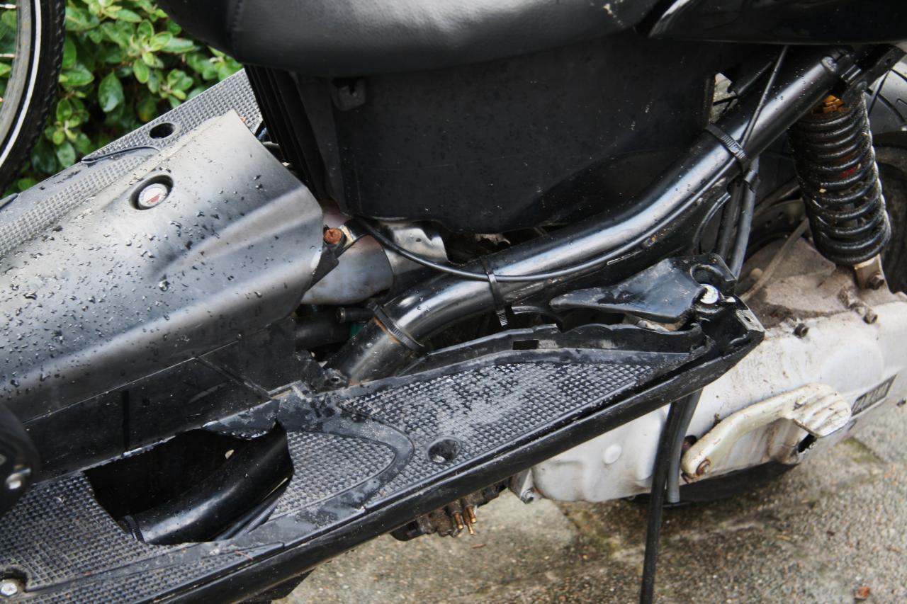 Twee gewonden na scooterongeval