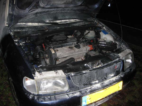 Autobrand snel geblust
