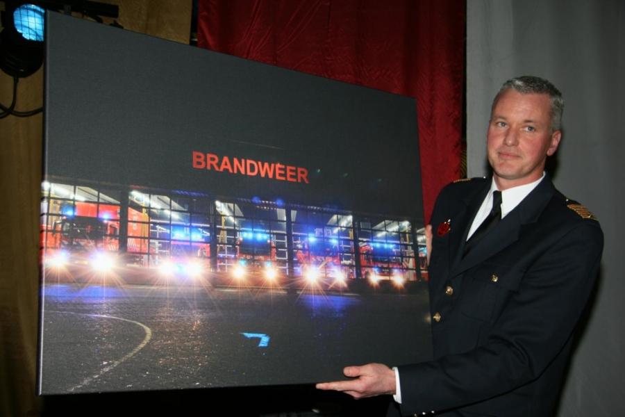 Nieuwe commandant brandweer Fryslân