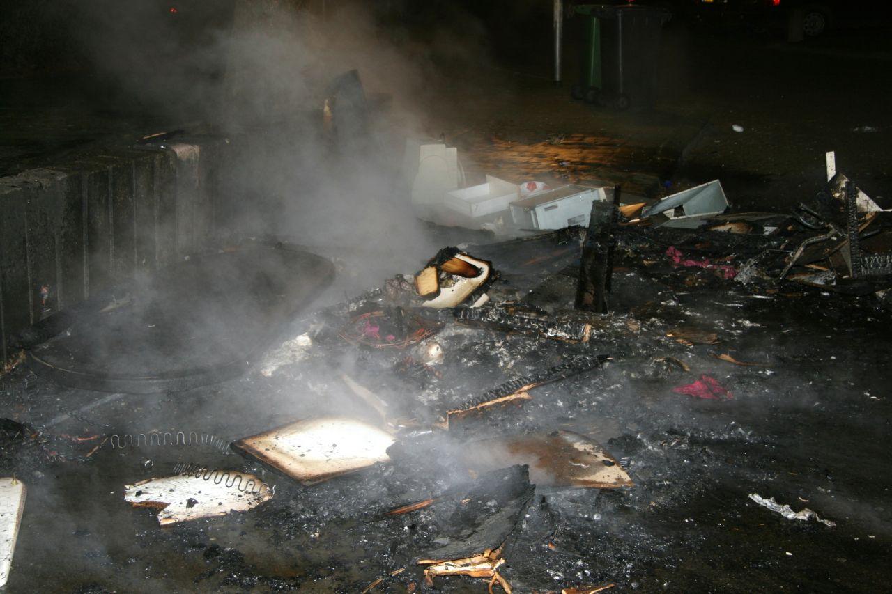 Buitenbrandjes en ongeval in Leeuwarden