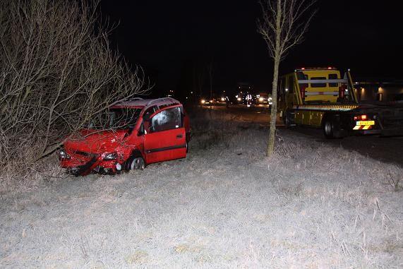 Vier auto's betrokken bij ongeval