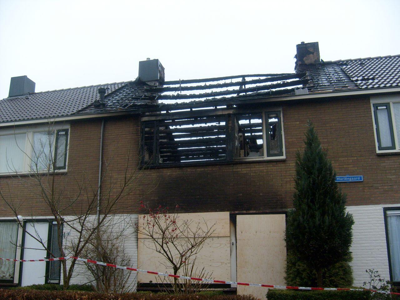 Twee vrouwen aangehouden na uitslaande woningbrand (update)