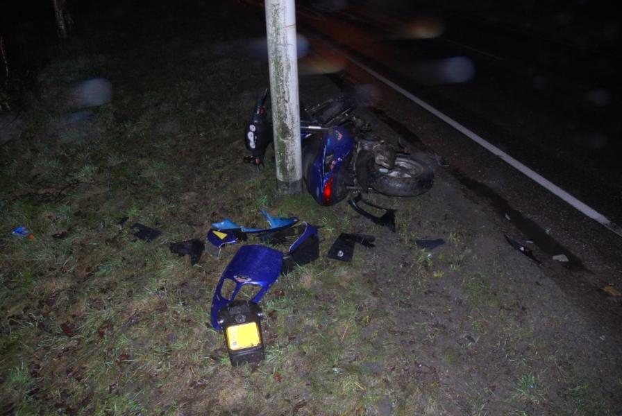 Scootterrijder gewond bij aanrijding