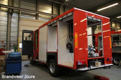 Nieuwe voertuigen voor brandweer in aanbouw (update)
