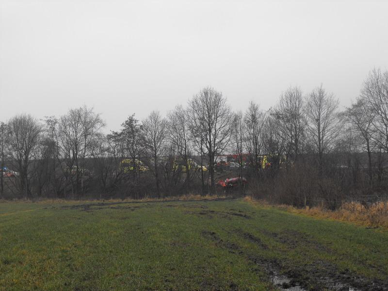 Zwaargewonde bij eenzijdig ongeval op Waldwei