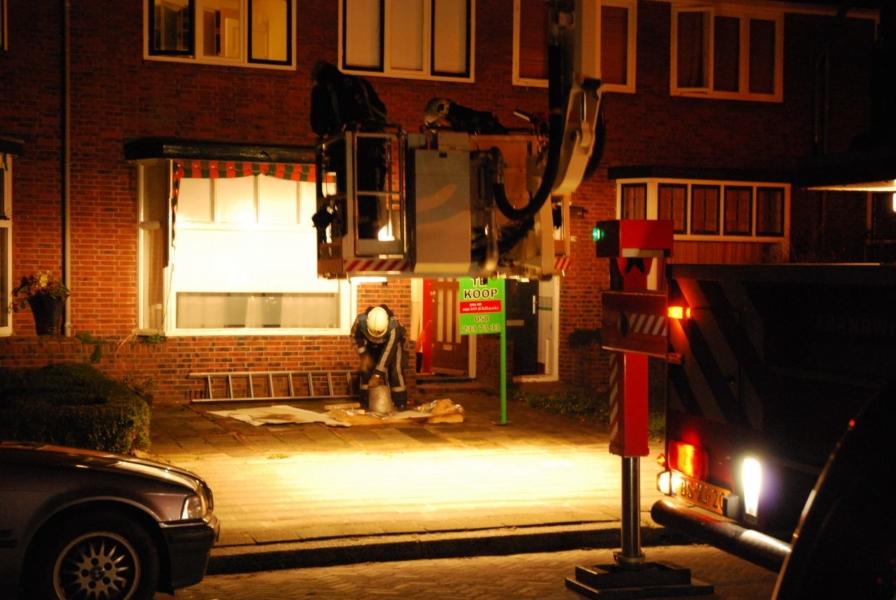 Schoorsteenbrand P.C. Hooftstraat