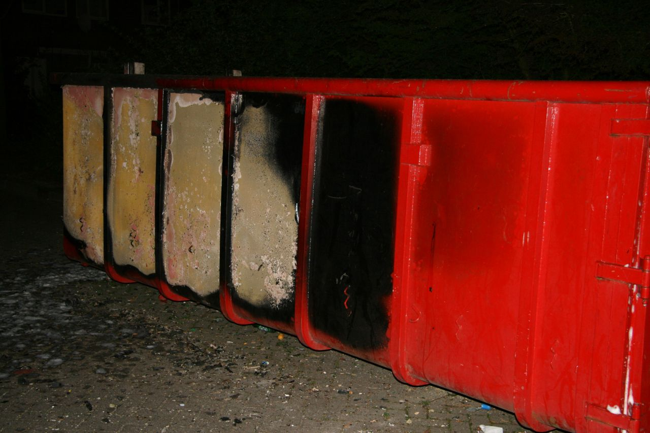 Containers in brand