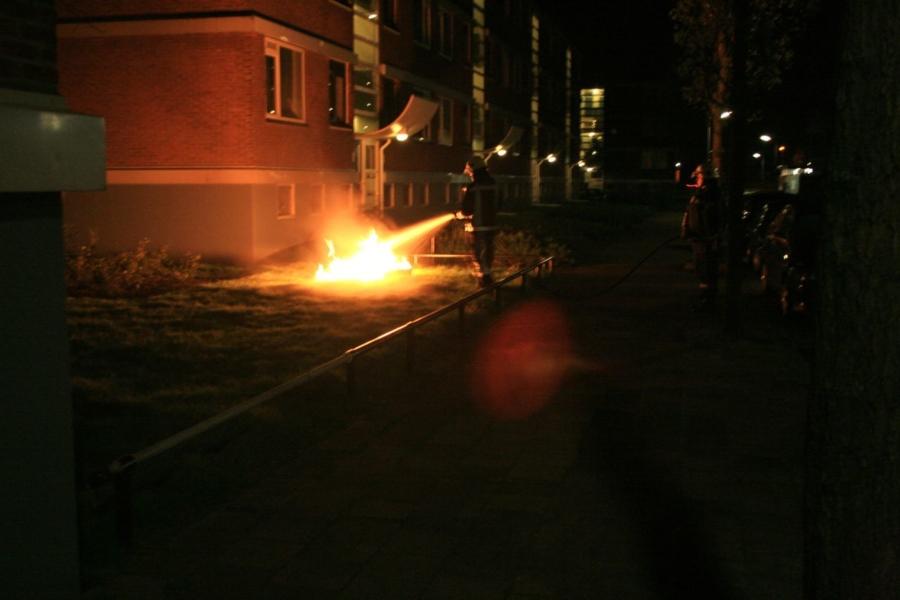 Buitenbrand Eikenstraat