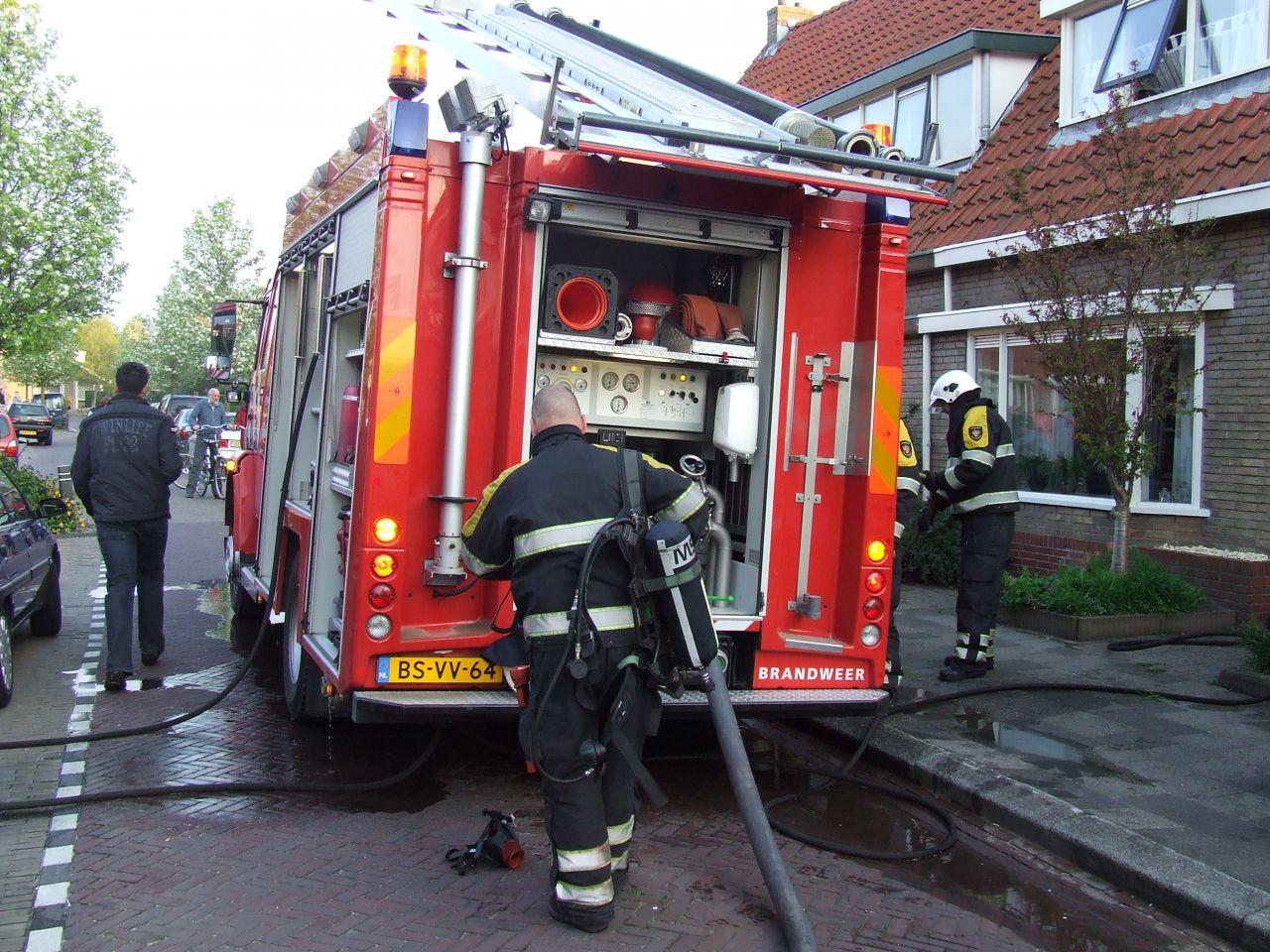 Frituurpan zorgt voor brand in woning