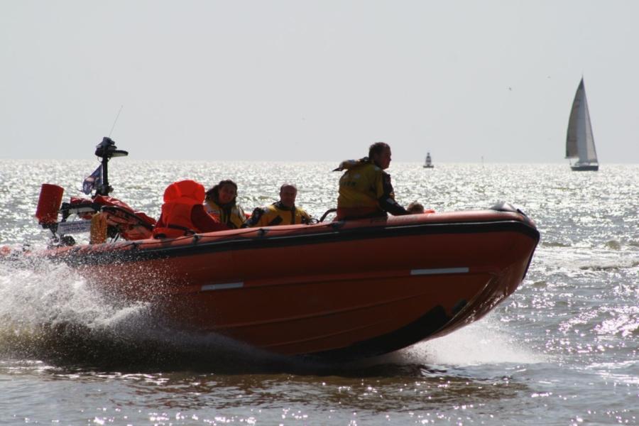 Nationale Reddingsbootdag bij KNRM