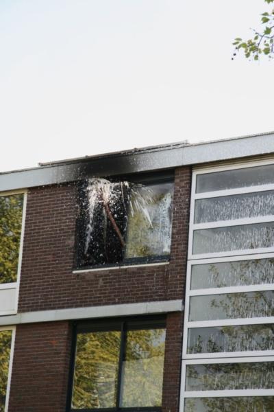 Uitslaande brand in flat