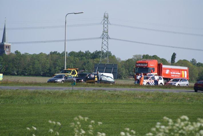 Aanrijding door brandweeroefening + Ongeval A32 (foto update)