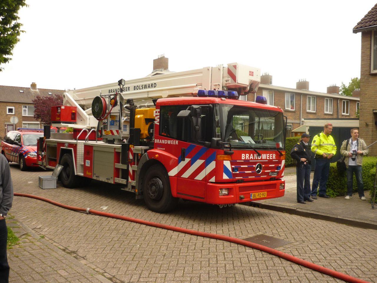 Vlam in de pan zorgt voor woningbrand