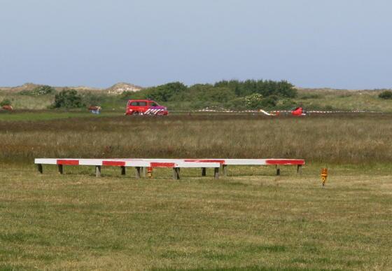 Heli crashed op Ameland