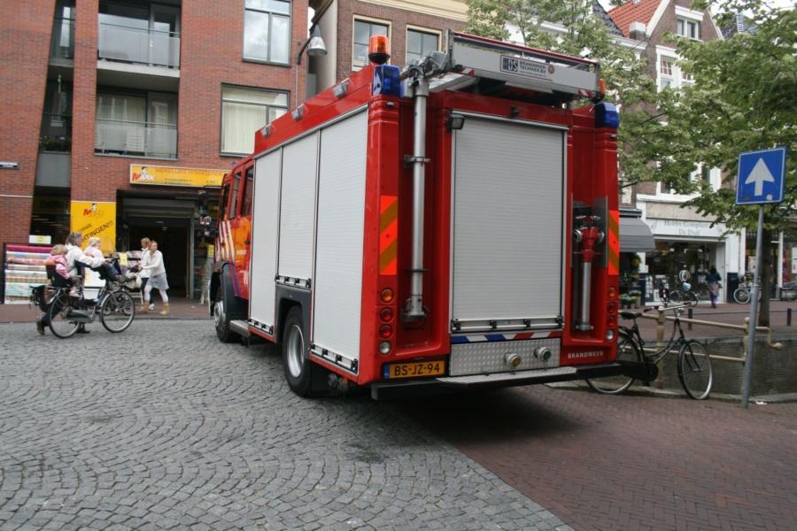 Winkelstraat deels afgesloten wegens gaslekkage