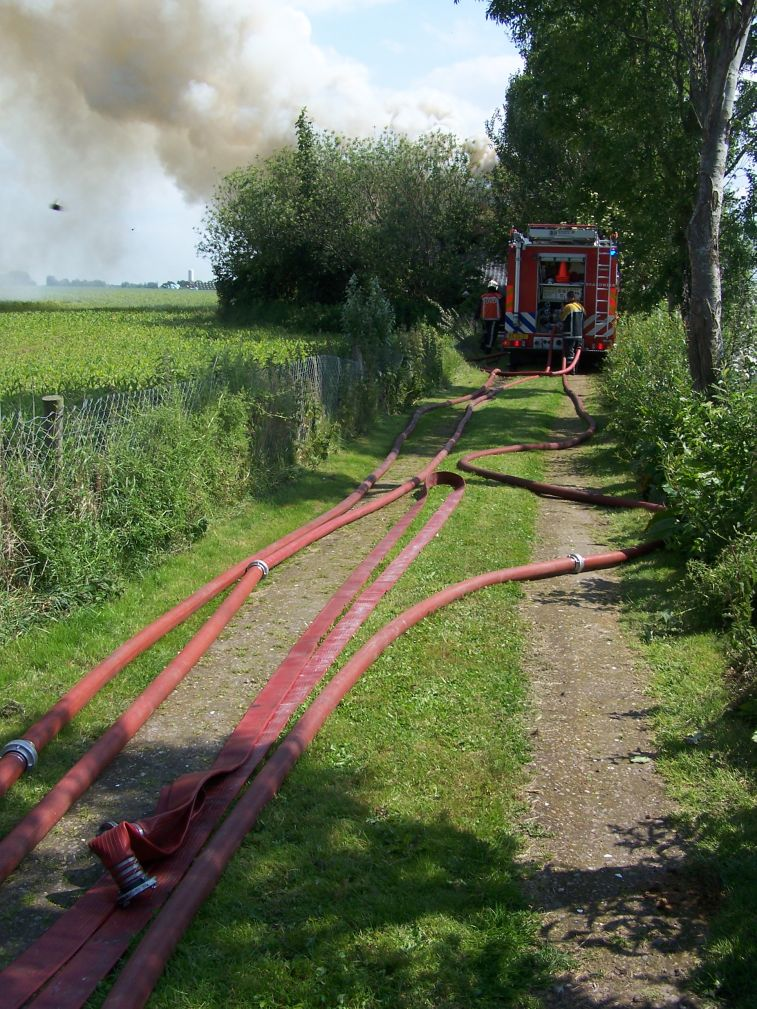 Woning volledig uitgebrand in Piaam