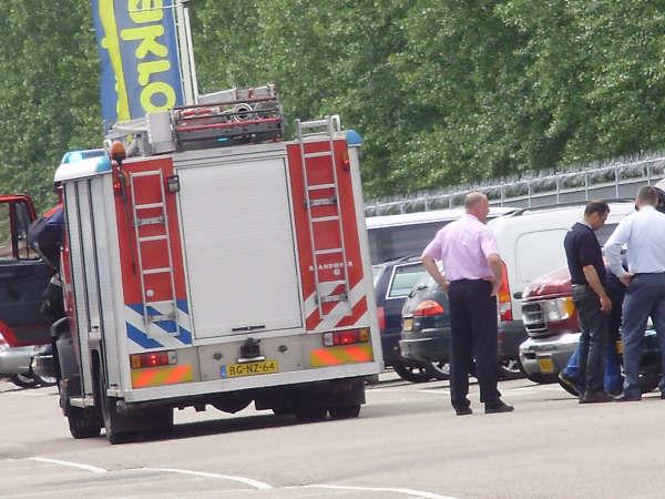 Autobranden blijken loos alarm *foto update*