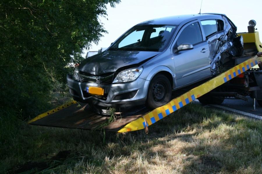 Vier gewonden bij ongeval Lauwersseewei