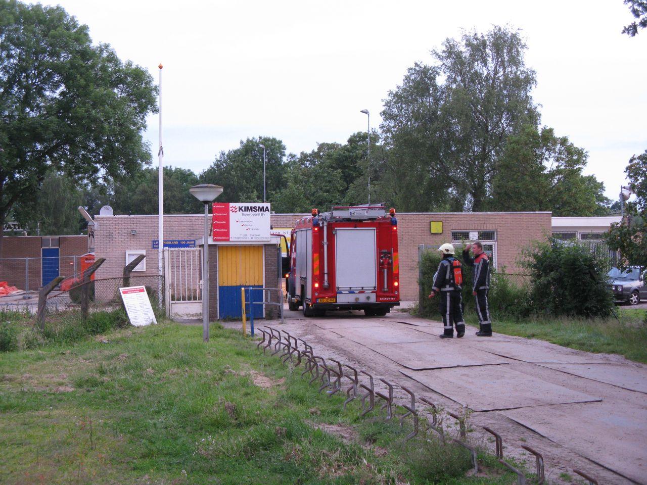 Brandweer achtervolgt inbreker *Update*