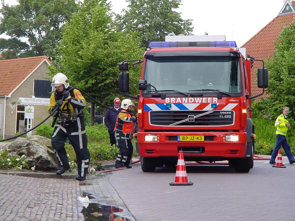 Brandweerwedstrijden in Balk
