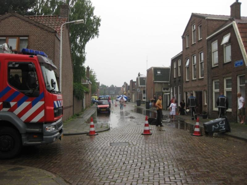 Drie keer wateroverlast in Sneek (Update)