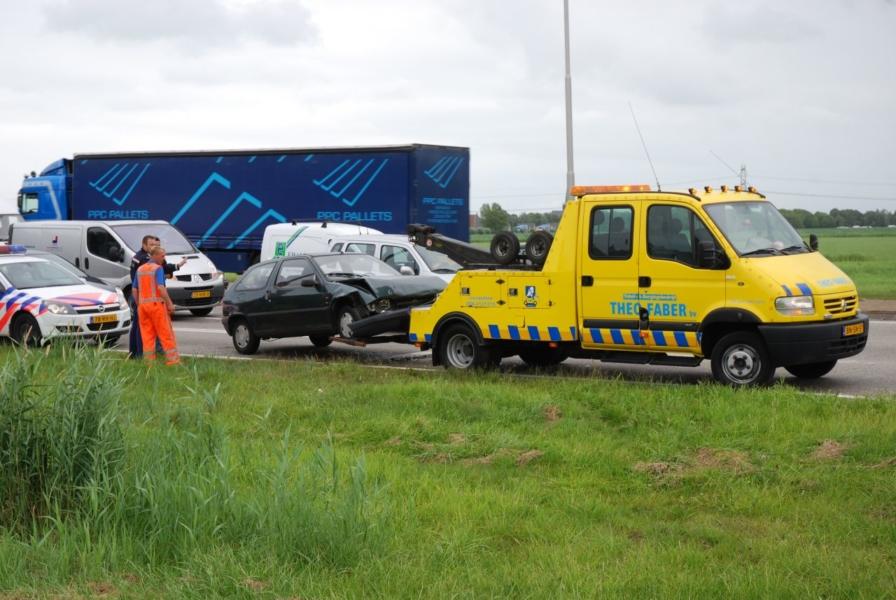 Diverse ongevallen in en om Leeuwarden