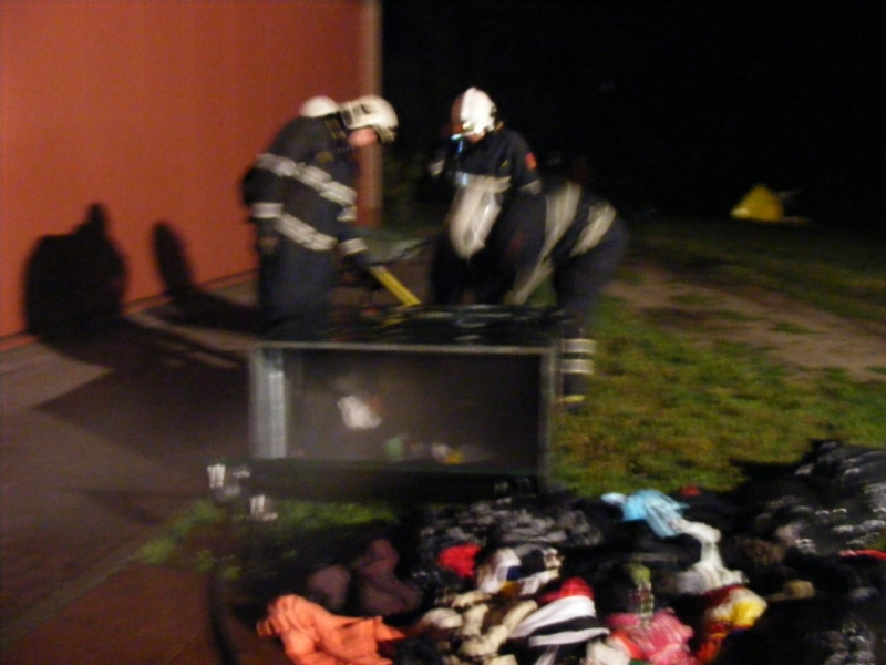 Containerbrand Bakhuizen
