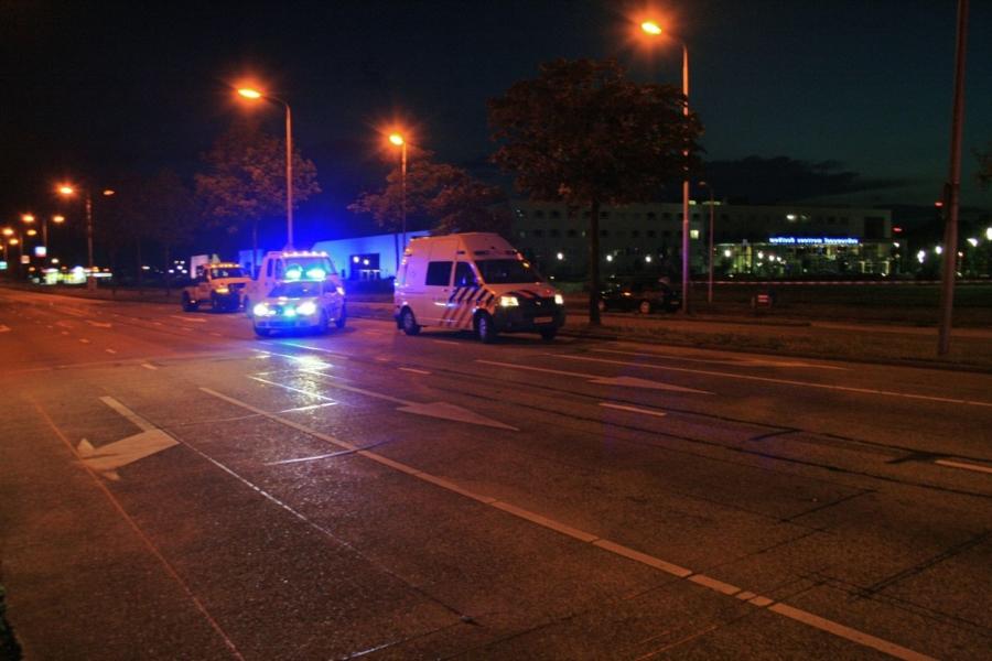 Fietser ernstig gewond bij aanrijding *Foto update*